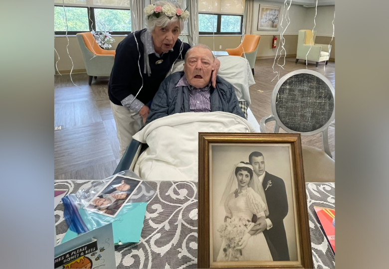 Oakland Rehabilitation & Healthcare Center Hosts 64th Wedding Anniversary